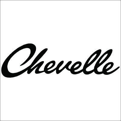 Chevelle Vinyl Sticker for your wall, car or truck.