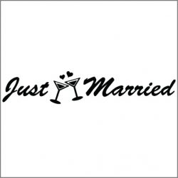 Getting Married Decals