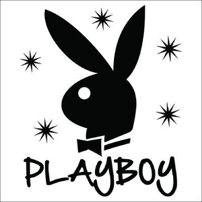 Playboy Bunny Stars Vinyl Sticker for your wall, car or truck.