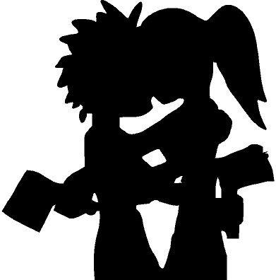 Icp Hatchet Man Girl Sticker Insane Clown Posse Juggalo