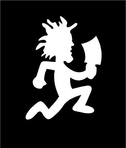 ICP Hatchet Man Sticker