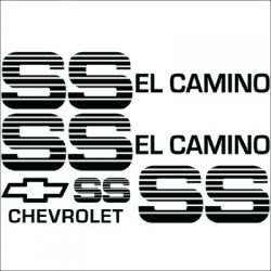 Chevy Decals