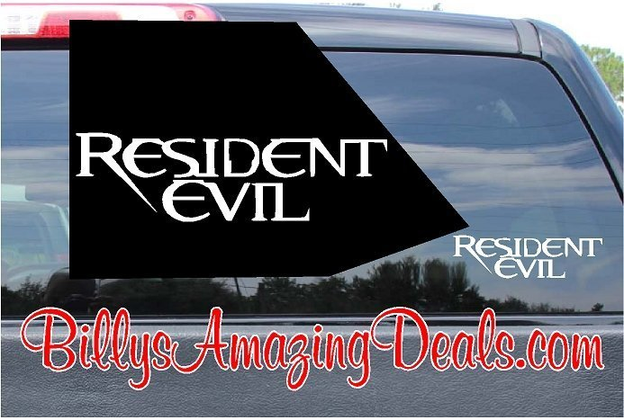 Resident Evil Sticker Decal