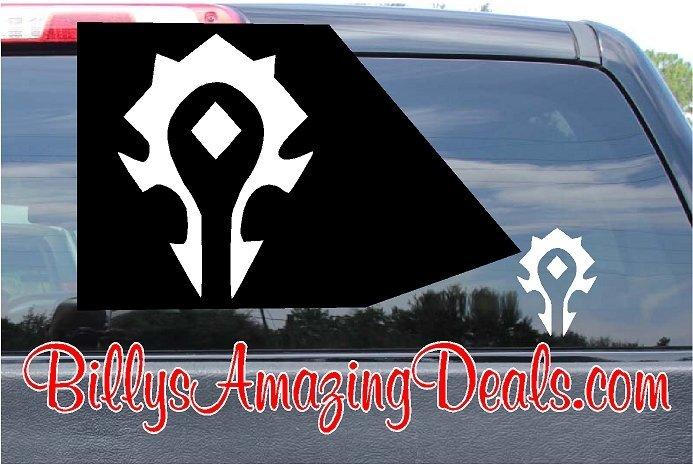 World of Warcraft Horde Vinyl Sticker