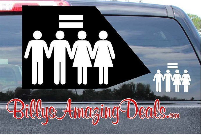 Our Marriage Equality LGBT Rights Sticker Vinyl Decal A