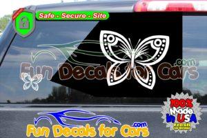 Butterfly Decal Vinyl Sticker Die Cut