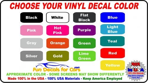 9cc5f5dd2a American Flag Pledge of Allegiance Decal Sticker · Vinyl Decal Color Choice